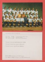 West Germany Team